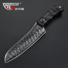 GHL New Arrival Damascus kitchen knife 8 inch chef Japanese knife sharp women chef's knife santoku cook tool et kesme