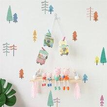 Adhesivos de pared creativos móviles pegados con decoración decorativa para ventana de pared decoración para habitación de bebé
