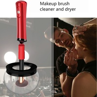 Foundation Powder Makeup Brushes Cleaner Tool Dry In Seconds Make Up Brushes Electric Portable Washing Brush Cleaner Dryer Set
