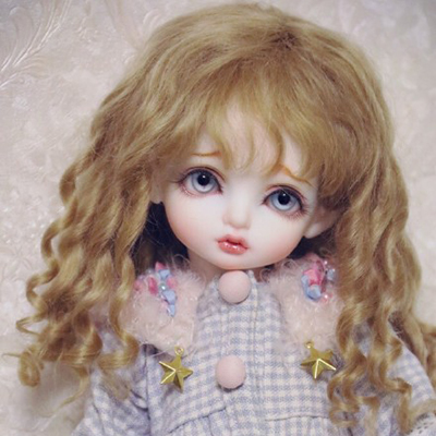 ФОТО 1/3 scale BJD wig curls hair for BJD/SD DIY doll accessories.Not included doll,clothes,shoes,and other 16C1009