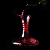 Изысканный Ручной Работы Кристалл Красного Вина Pourer Стекла 1400 мл Графин Бренди Переливать Набор Кувшин Для Бар Шампанского Бутылку Воды