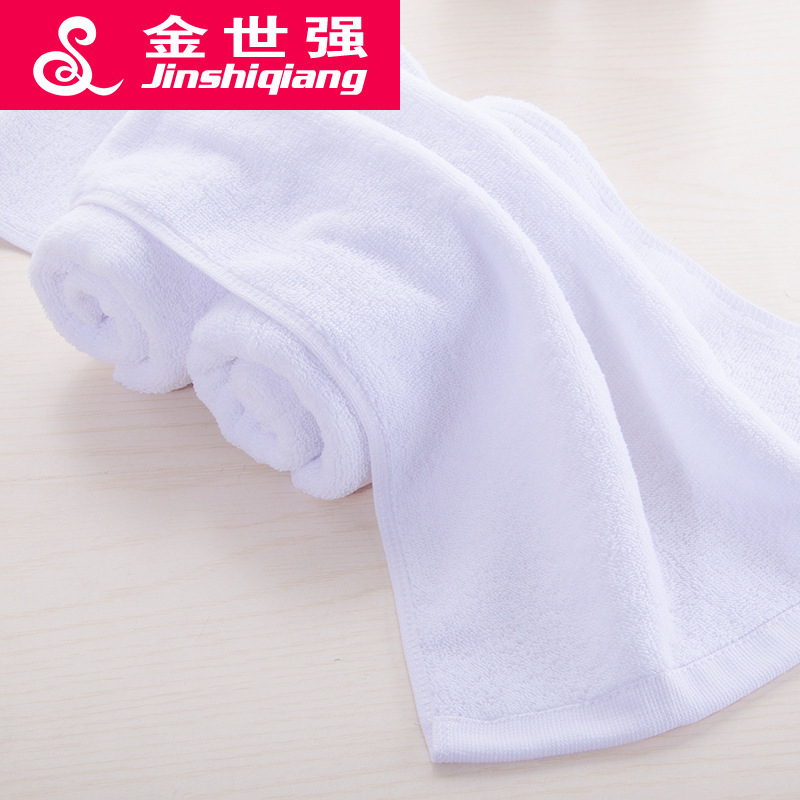 Image 2 - Hotel Towel Gift white towel Cotton Towel lint white towel towel movement hotel fire India logo wholesale manufacturers-in Storage Bags from Home & Garden