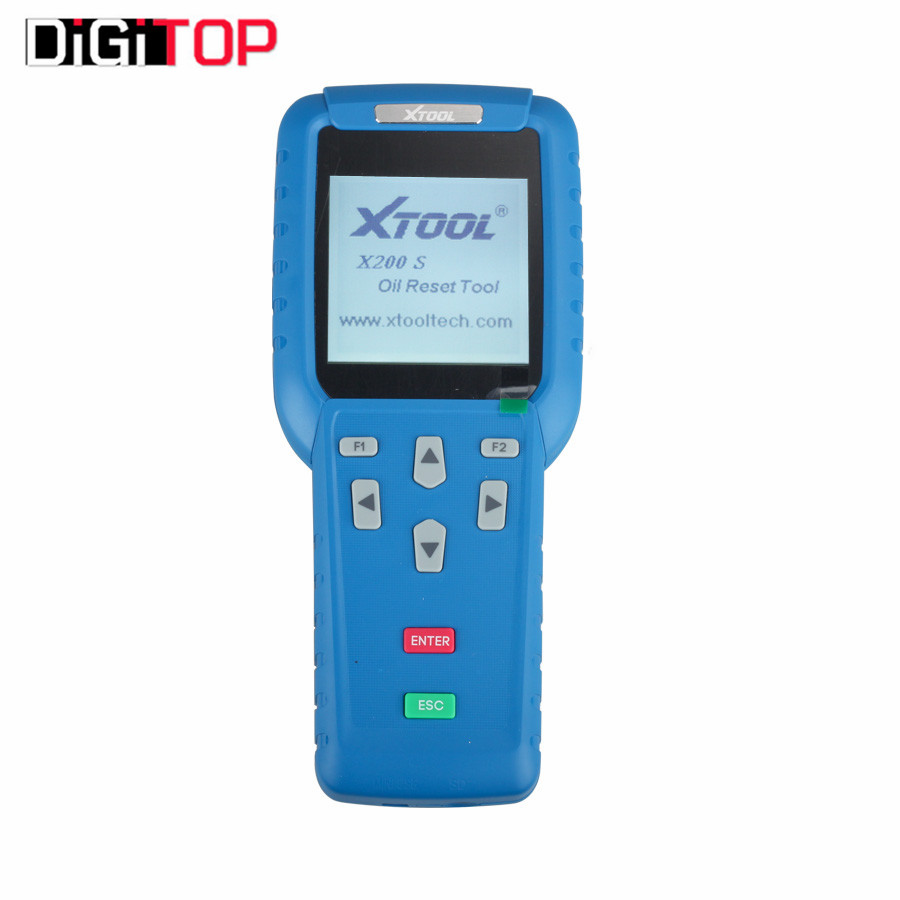 Professional Oil Reset Tool X-200 X200 Hand Auto Maintenance Resetter X200S  OBD-II Engine Diagnosis Tool Online Update