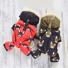 New Puppy Dog Clothing For Pets Luxury Jackets Small Big Animal Pet Winter Warm Down Yorkshire Dachshund Cat Products