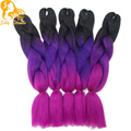 Ombre Xpressions Kanekalon Jumbo Braiding Hair Colors 24''100g Expression Braiding Hair Crochet Box Braids Hair