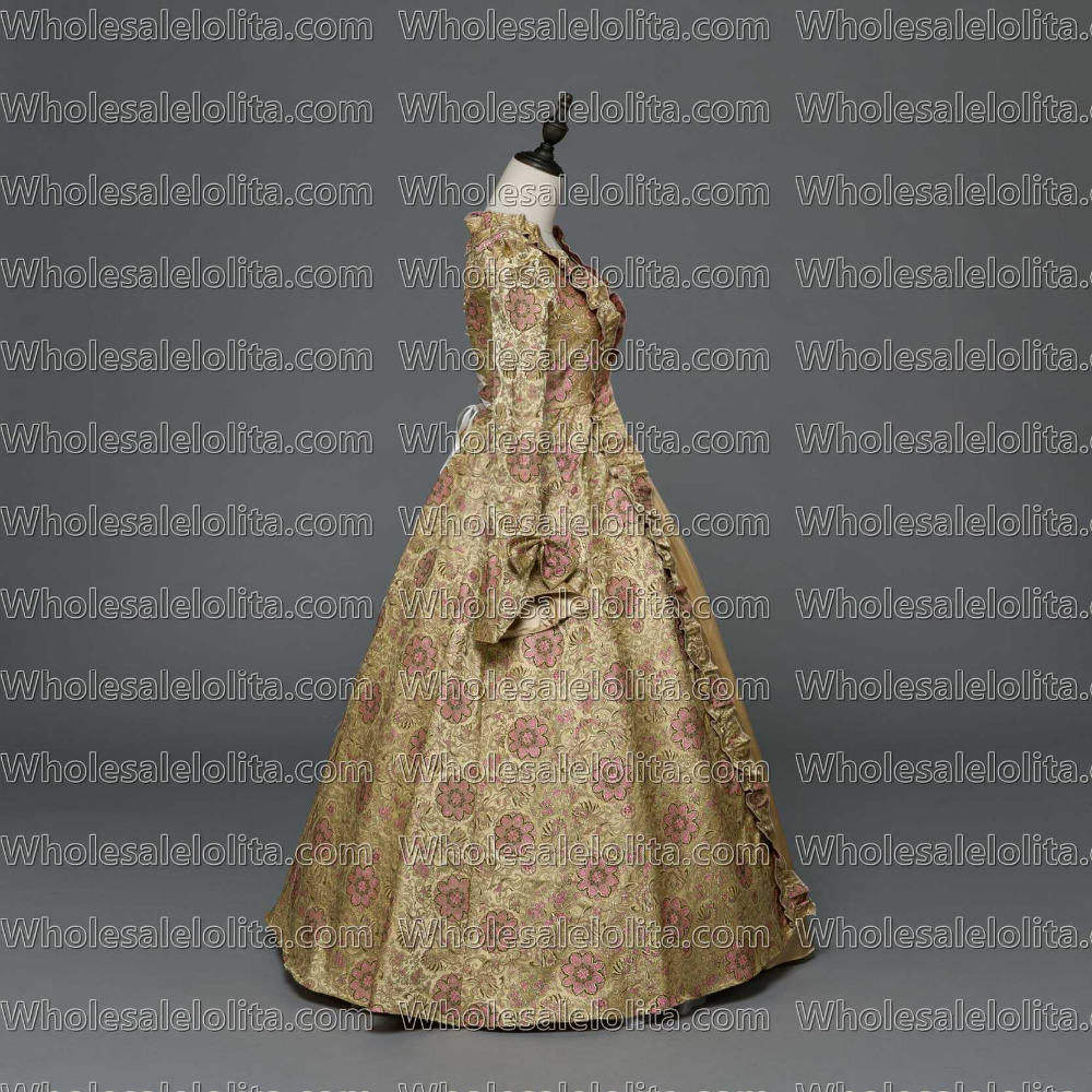 2938d1a3cc Aliexpress.com   Buy Gothic Period Medieval Dresses Georgian Renaissance  Princess Dress Gothic Masquerade Ball Gown Vampire Halloween Costume from  Reliable ...