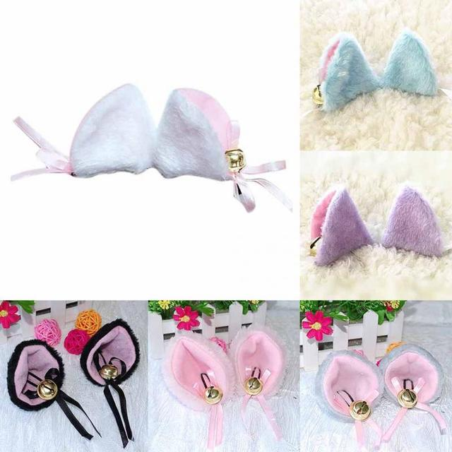 Women's Cat Ears Themed Hair Clip