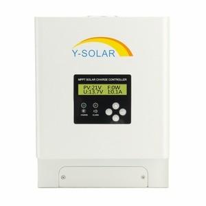 Image 2 - MPPT 12В 24В 36В 48В 60A Контроллер заряда солнечной панели для макс. 150 в вход двойной вентилятор охлаждения Солнечный контроллер с RS485