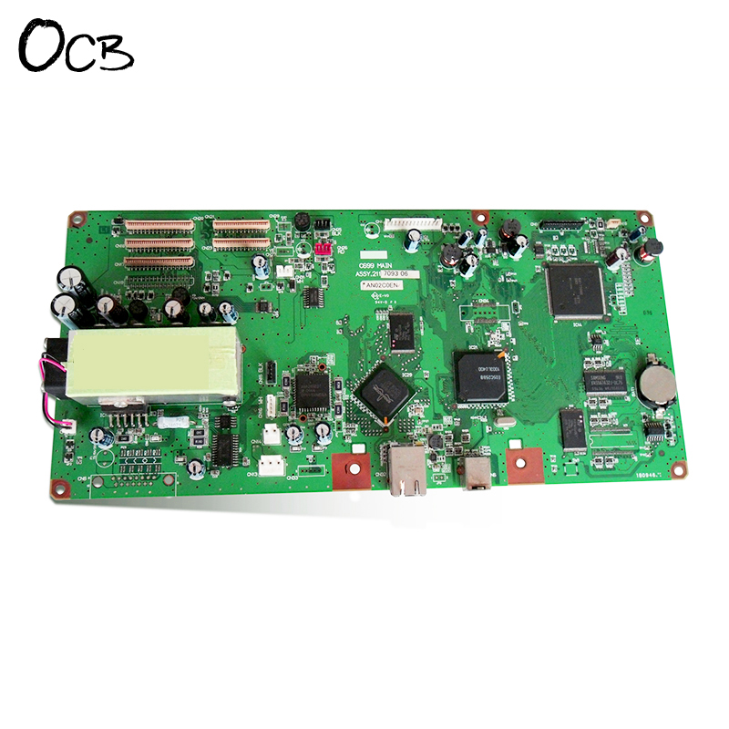 Original C699MAIN Mainboard Main Board For Epson Stylus Pro 7800 9800 Printer Formatter Board