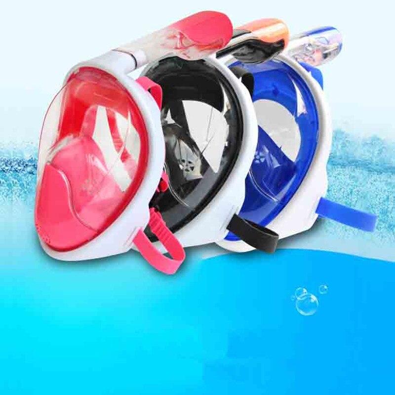 Miroir submersible anti-buée équipé d'un masque de natation masque respiratoire entièrement sec