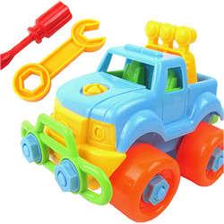 Забавный DIY разборки автомобиль грузовик развивающие одежда для малышей Обувь для девочек Обувь для мальчиков игрушка в подарок Дети