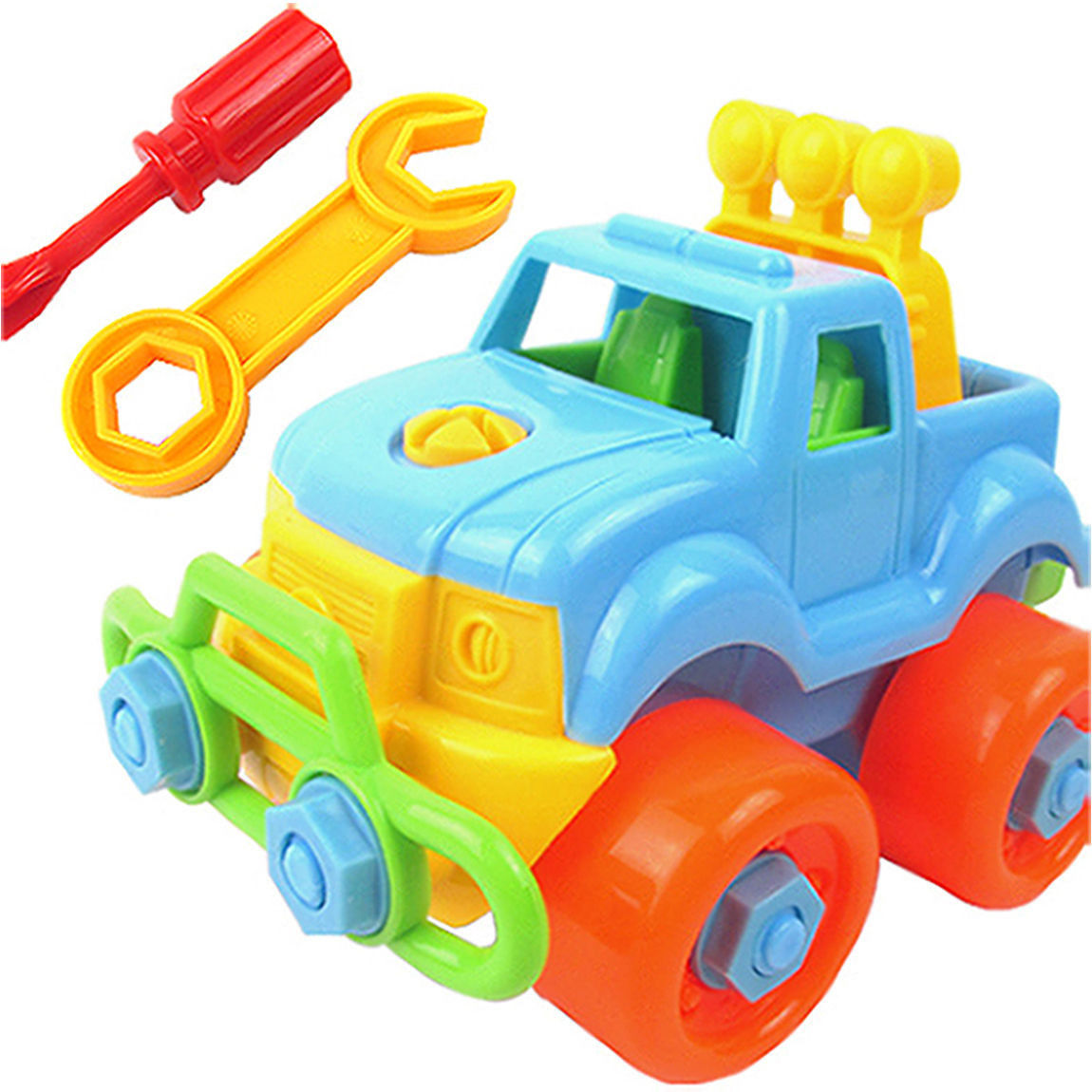 Funny DIY Disassembly Car Truck Developmental Toddler Baby Girls Boys Toy Gift Children Toys