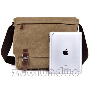 Image 5 - New Men Messenger Bags Fashion Bolsa Masculina Travel Shoulder Bags Portatiles Ordenadores Canvas Briefcase Chapeu Masculino