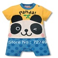 baby rompers Panda Short sleeve body suits babywear infant overalls Newborn romper baby boy clothes roupa bebe costume