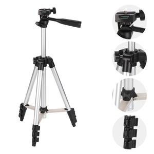 Image 2 - KOOYUTA Professional Aluminum Camera Tripod Stand Holder Phone Holder Nylon Carry Bag for iPhone Smartphone four floor high