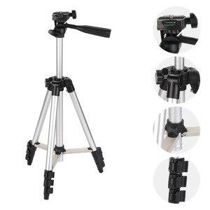 Image 2 - KOOYUTA profesyonel alüminyum kamera Tripod standı tutucu telefon tutucu naylon taşıma çantası iPhone Smartphone için dört kat yüksek