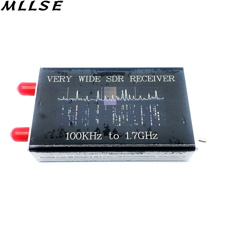 R820T2 Tuner 100KHz-1.7GHz Full Band SDR Receiver RTL.SDR + Up Converter Software Receiver, Aerospace Band, Broadband