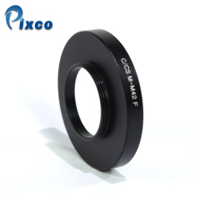 ADPLO 011288, Suit For M42 to C/CS, Lens adapter for M42 Screw Mount Lens to C/CS Camera,M42 to C/CS m42 fx m42 lens to fujifilm x pro1 mount adapter black