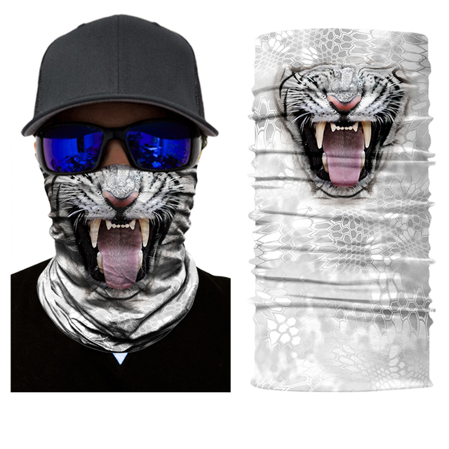 BJMOTO Sun Mask Skull Face Shield Balaclava Motorcycle Outdoor Hunting Face Mask Headwears Balaclava Magic 3D Skull Bandanas 4