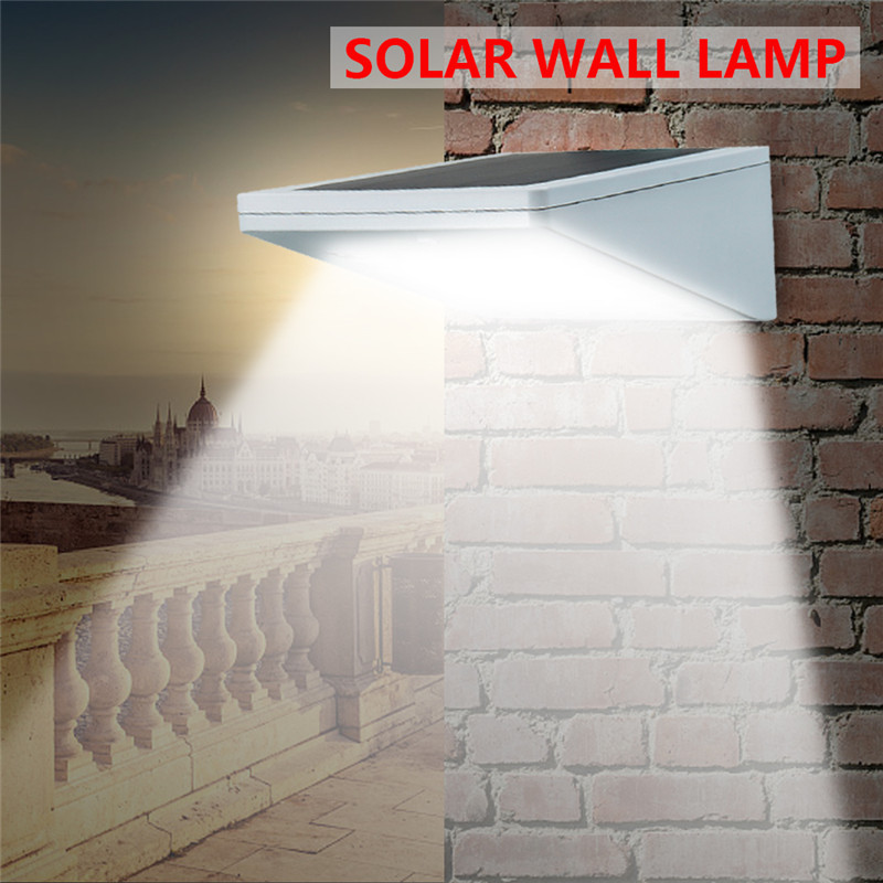 Mising LED Solar Power Lamp 35LEDs Raddar Sensor Light Outdoor Light Path Wall Lamp LED Solar Lamp for Garden Lighting IP65