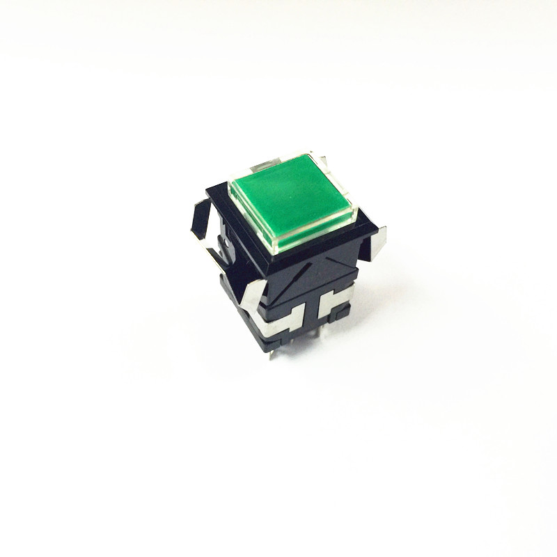 SANMULON self locking push-button switch DHA-2S2 with lamp switch tn2ss rotary button switch gear selection type 2 22mm with self locking