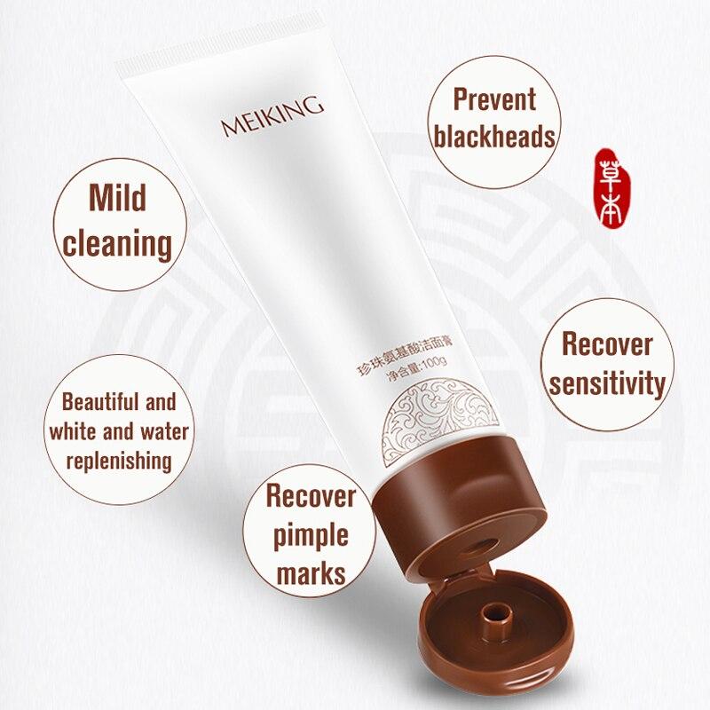 MEIKING Acne Treatment Face Wash