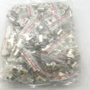 Image 5 - NOVOXY BNC erkek kıvrım fiş için RG59 koaksiyel kablo, RG59 BNC konektörü 3 piece sıkma konnektör fişleri RG59