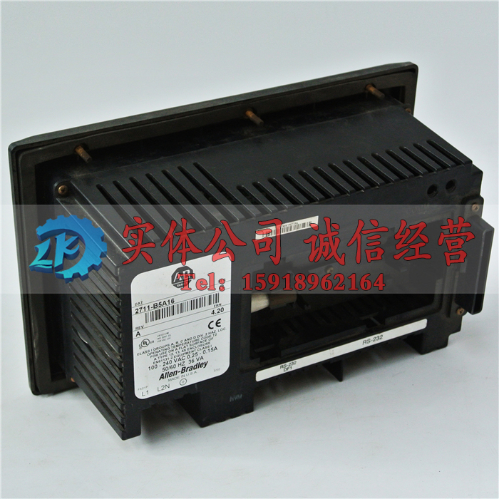 AB 2711-K5A5 ser.E/H Used In Good Condition With Free DHL /EMS dhl ems ab ac drive 22a b4p5n104 22ab4p5n104 new in box