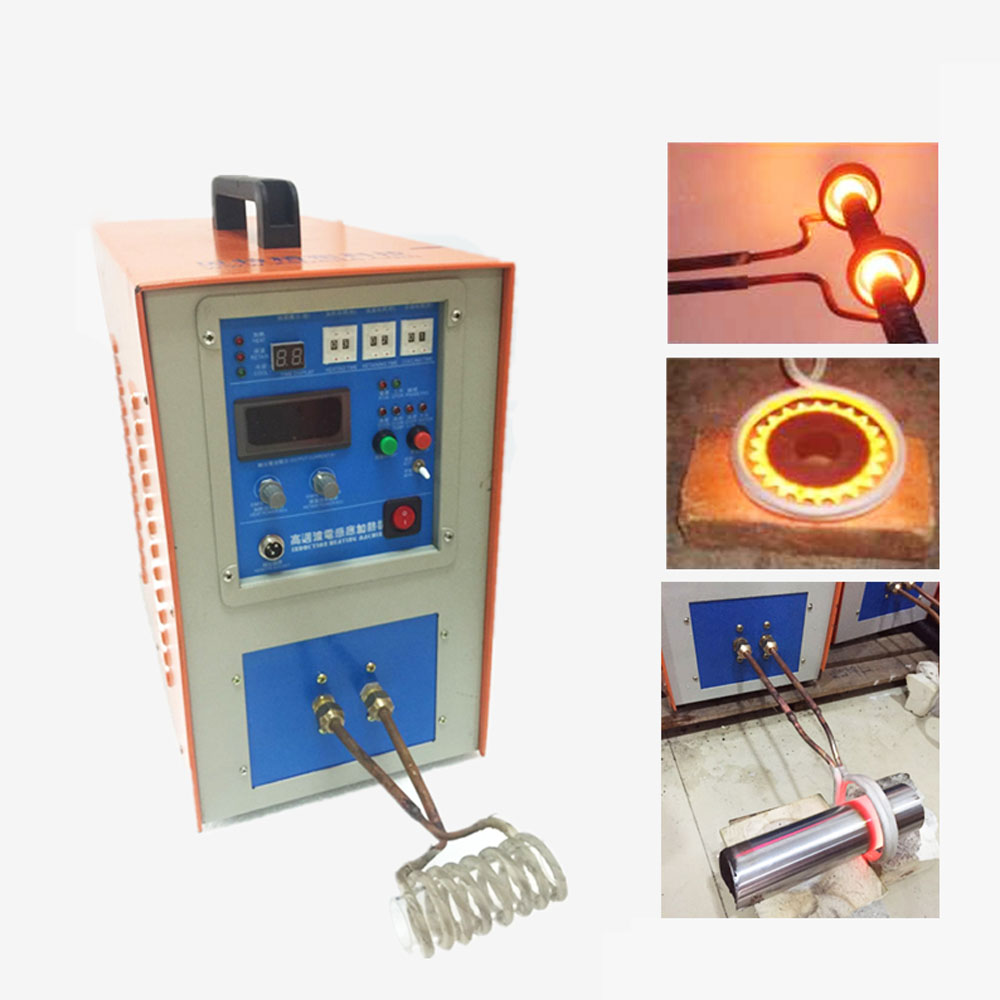 High Frequency Induction Heating Machine 25KW for Brazing Metal Heating Solding Silver Welding high frequency heating machine dedicated resonant capacitor 0 12uf 120nf 3000vac 100khz 80a in stock