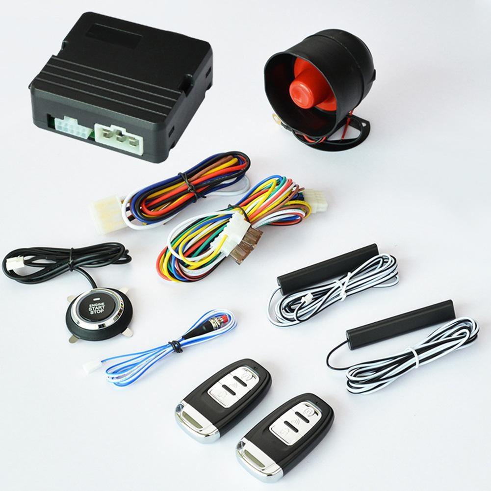 Здесь можно купить  K9 Intelligent One Button Start Car Alarm System Keyless Center Input Auto Compatiable With Cardt GPS Module Dropship 6.30  Автомобили и Мотоциклы