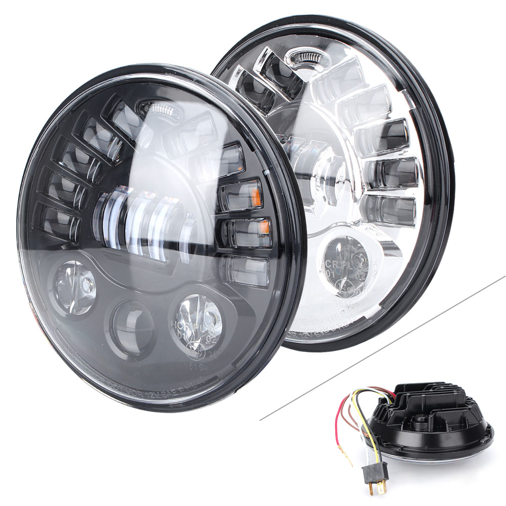 GZYF Motorcycle Front Headlight LED High Low Beam Lamp Headlamp For BMW R1200 R Nine T 7 2014 2015 2016