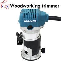 Handheld woodworking trimming machine RT0700C electricity woodworking slotting machine saw for wood trimming tools 220V 1PC