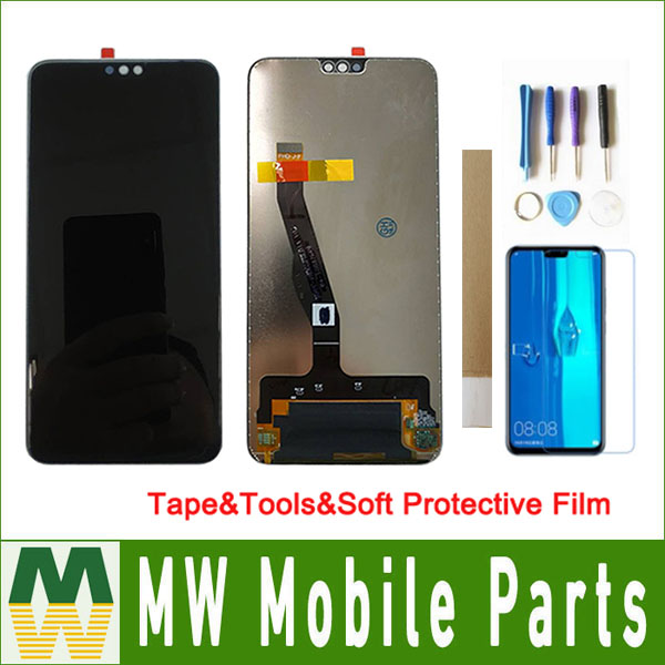 For Huawei Y9 2019 Enjoy 9 Plus JKM-LX1 JKM-LX3 LCD Display+Touch Screen Digitizer Assembly With Tools&Tape&Soft Protective FilmFor Huawei Y9 2019 Enjoy 9 Plus JKM-LX1 JKM-LX3 LCD Display+Touch Screen Digitizer Assembly With Tools&Tape&Soft Protective Film