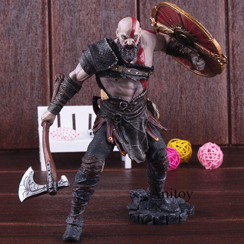 Kratos God of War Action Figures Kratos God of War 4 Game Figure Statue Gift Toy for Children 20cm