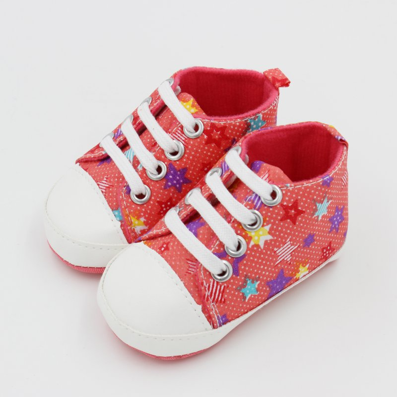Newborn Boy Girl Anti-Slip Shoes Infants  First Walkers Prewalkers Slip-On Walk Shoes 0-18M