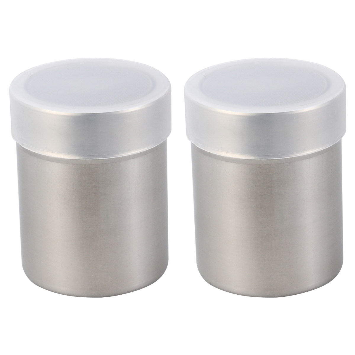 6X Seasoning Salt Box Spice Jar Kitchen Condiment Container for BBQ Camping