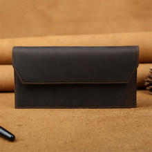 2016 summer hot new imported leather men's leather wallet long wallet long wallet clutch bag Outlet hot free shipping