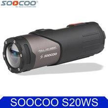 Оригинал soocoo s20ws wi-fi спорт действий видеокамеры водонепроницаемый 10 м 1080 P full hd велосипедный шлем мини-открытый спорт dv