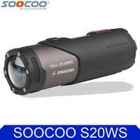 Original SOOCOO S20WS Wifi Action Video Camera Cylindrical Waterproof 10M 1080P Full HD Cycling Helmet Mini