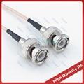 Tanger штекер BNC к штекер BNC разъем прямой Высокое качество 40 дюймов 3 фута 100 см RG316 радио коаксиальный кабельный вывод кабель с малыми потерями ...