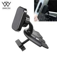 XMXCZKJ Magnetic Cell Phone Holder Car CD Slot Mount Accessories Mobile Magnet Head Stand Support Auto For iPhone X