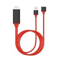 USB HDMI Kabel Video Adapter Für iPad iPhone X XS MAX XR 5 6 7 8 plus Samsung S3 s4 s5 S8 S9 S10 Huawei LG Typ C Android zu TV