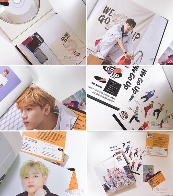 [MYKPOP] ~ 100% ORIGINAL officiel ~ rêve NCT nous montons MINI 2 Album ensemble CD + livre Photo + affiche + Mini livre + autocollant article KPOP SA18101605