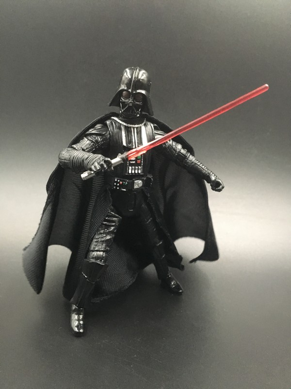 3.75'' 1/18 action figure Star Wars High mobile Das Vinda / Black Samurai Free shipping  S052