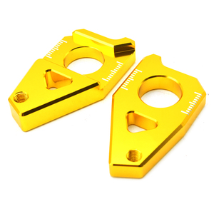Image 2 - Motorcycle Parts Accessories CNC Chain Adjusters Tensioners Catena For Yamaha TMAX 530 TMAX530 TMAX 530 2012 2015 2013 2014