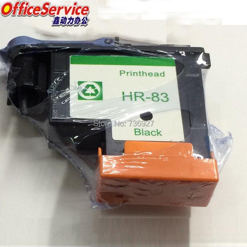 все цены на 1X Black remanufactured Printhead For HP 83 , For Designjet 5000 5500 inkjet printer ,83 UV Ink Cartridge Head C4960A онлайн