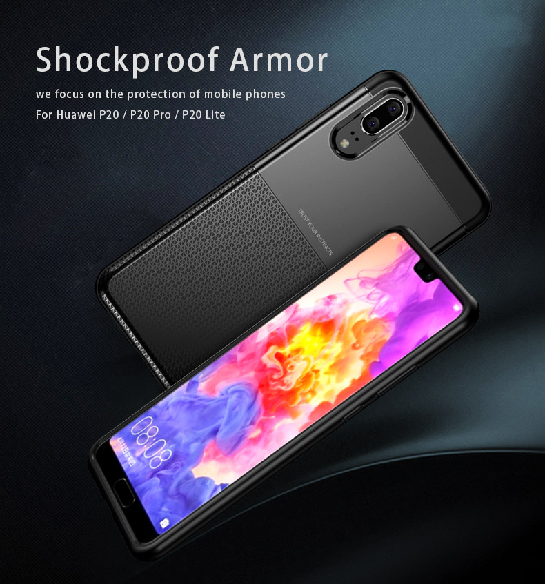 Armor protective case for Huawei P20 Lite