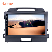 Harfey 2Din Android 6.0/7.1 9 Car Radio For KIA Sportage 2010 2011 2012 2013 2014 2015 GPS Auto Stereo GPS Multimedia Player