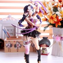 цены 23cm Love Live! Tojo Nozomi Poker Card Version 1/7 Scale Painted Figure Collectible Model Toy