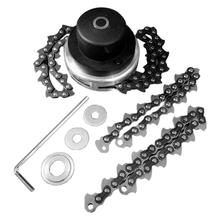General Lawn Mower Chain 65MM Fine - Tuning Head Chain Mower Trimmer Cutter Garden Grass Brush Tool Spare Parts Cutter Lawn цена и фото